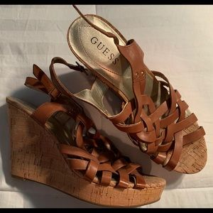 Women's Guess Wedges Size 9.5 Good condition
